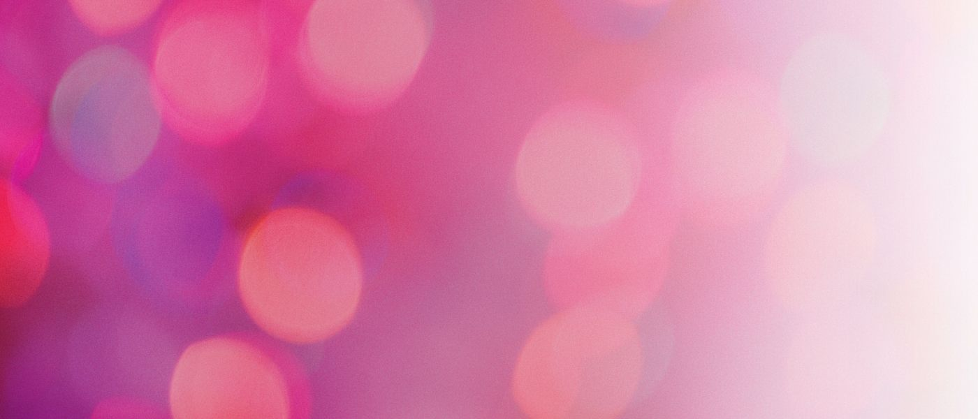 Bokeh pink for home page 1400x600