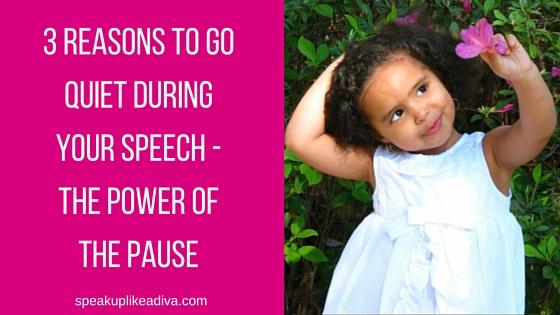 3 reasons- pause