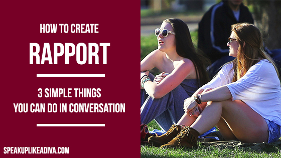 how to create rapport