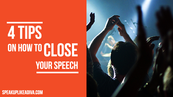 how to close your speech