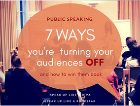 7 audience turn offs - public speaking