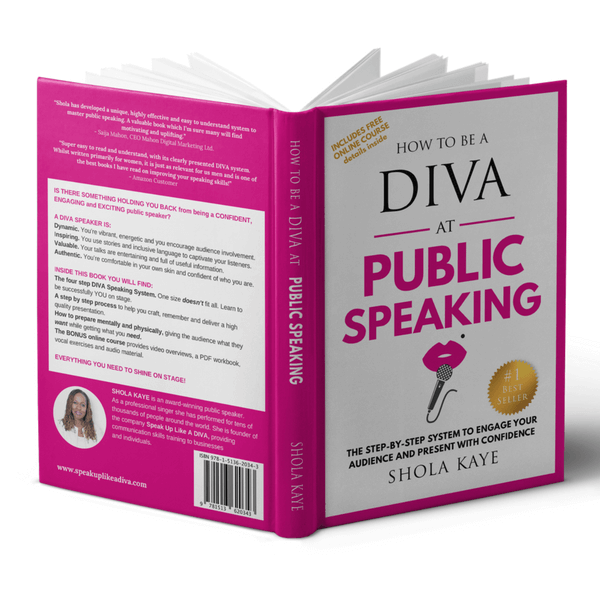 DIVA book public speaking