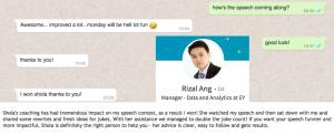 Rizal testimonial