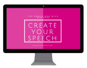 public speaking - create your speech video series