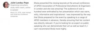 Shola LI review