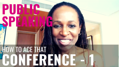 Public Speaking - How to ace that CONFERENCE - 1