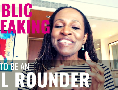 Public Speaking – How to be an ALL ROUNDER
