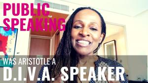 Public Speaking - Was Aristotle a D.I.V.A. SPEAKER