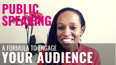 Public Speaking - A formula to engage YOUR AUDIENCE