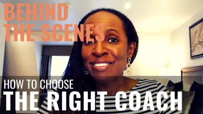 BEHIND THE SCENES - How to choose THE RIGHT COACH