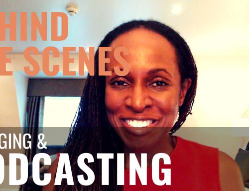Public Speaking (BEHIND THE SCENES) – Vlogging & PODCASTING